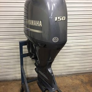 Used Yamaha 150HP 4 Stroke Outboard Motor Engine