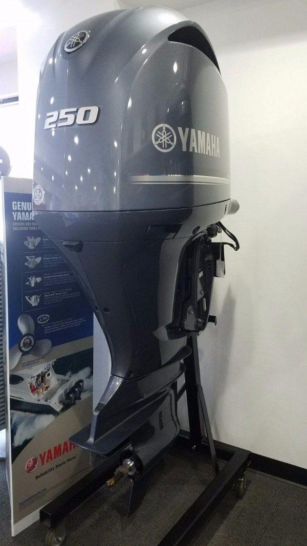 USED YAMAHA 250 HP 4 STROKE OUTBOARD MOTOR ENGINE