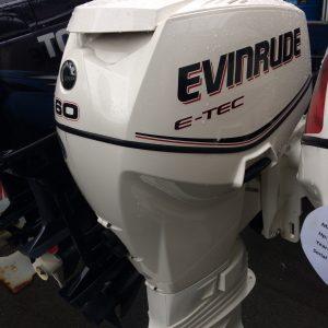 USED 2008 EVINRUDE 60HP
