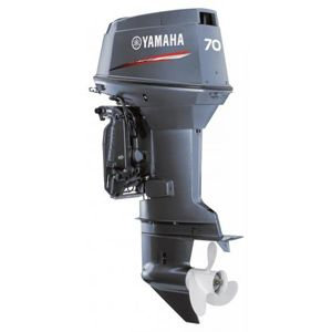 Brand New Yamaha Outboard Motor 2-stroke (L) 70 hp