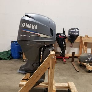 2010 Yamaha f115 4 stroke EFI Outboard 20 shaft