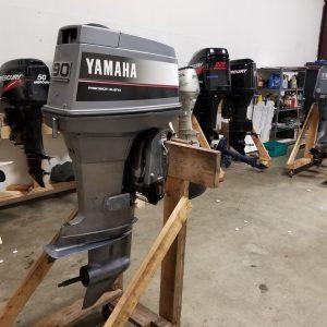 Yamaha 90 2 stroke outboard